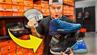 Buying ANY Heat I See At Nike Outlet Challenge!