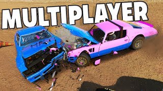 CRAZY MULTIPLAYER DEMO RACES! - Next Car Game Wreckfest Multiplayer w/CamodoGaming