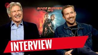 BLADE RUNNER 2049 | Steven Gätjen trifft... Harrison Ford & Ryan Gosling Interview