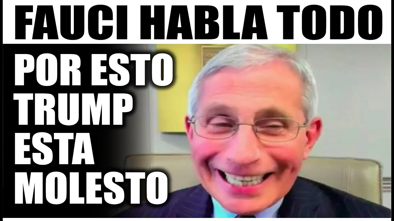 Ultimo minuto EEUU, FAUCI HABLA TODO ¡IMPORTANTE! 15/07/2020