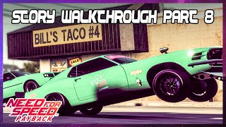 Tyler against Riot Club Drag League - Need for Speed Payback (PS4)