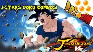 J-STARS Victory Vs Plus: Goku Combos