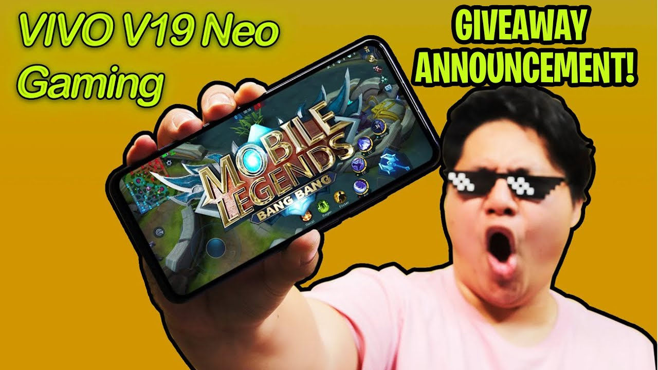 VIVO V19 NEO - DI KO AKALAING MALUPIT DIN TO SA GAMING! + GIVEAWAY ANNOUNCEMENT!