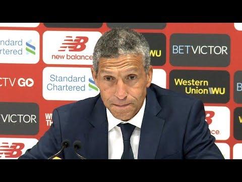 Liverpool 1-0 Brighton - Chris Hughton Full Post Match Press Conference - Premier League