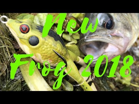 Lunkerhunt Prop Frog and Bass action review (NEW TOPWATER LURE 2018)