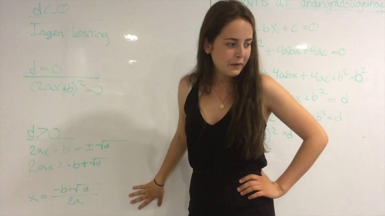 Matematik Årsprøve 2016 - Laura, Asta, Signe