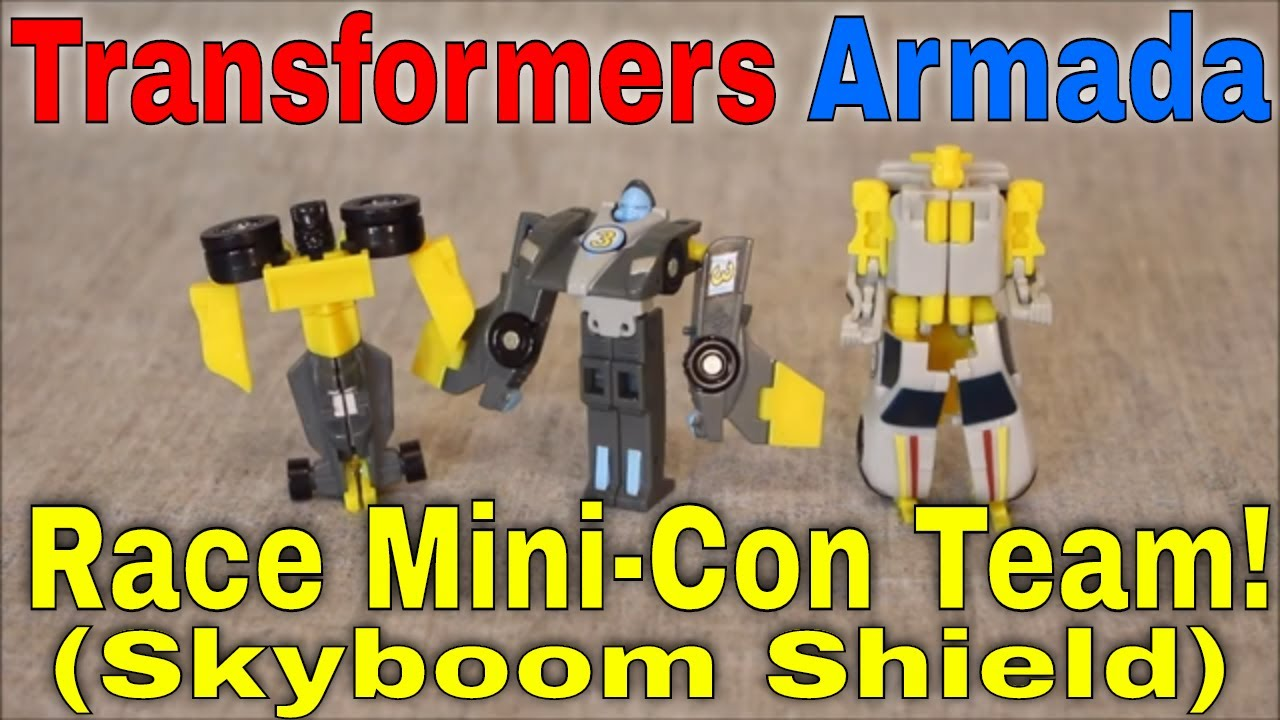 BOOM!: The Armada Skyboom Shield/ Race Mini-Con Team By GotBot