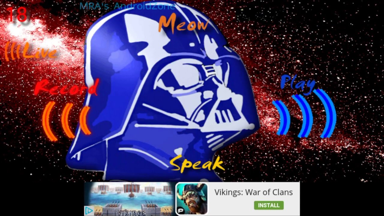 Darth Vader Voice Changer DTVC- Recommended App #24 APP
