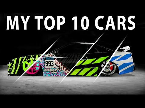 Midnight Club Los Angeles- MY TOP 10 CARS