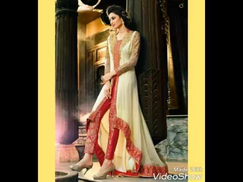 traditional stylish anarkali suits designs