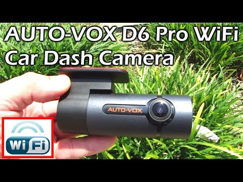AUTOVOX D6 Pro Wifi Car Dash Camera