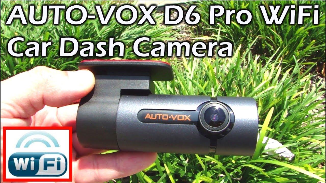 AUTO-VOX D6 Pro FHD 1080P Car DVR WiFi Dash Cam Video Camera Recorder G-Sensor