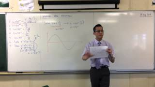 Solving Trigonometric Equations (1 of 2: Thinking Graphically)