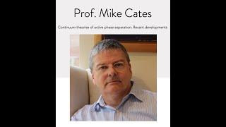 NSCS Online Seminar - Prof. Michael Cates