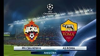 Download Video CSKA Moscow vs Roma | UEFA Champions League 2018 | PES 2018 HD MP3 3GP MP4