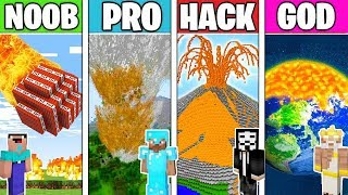 Minecraft - NOOB vs PRO vs HACKER vs GOD : APOCALYPSE in Minecraft ! Animation