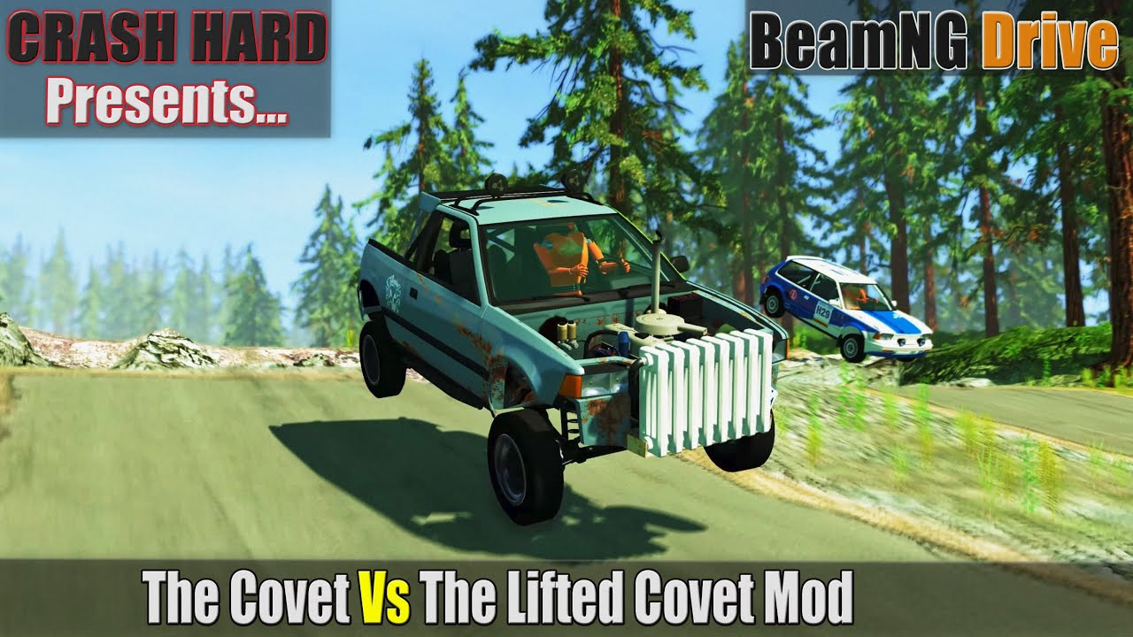 BeamNG Drive - The Covet Vs The Lifted Covet Mod