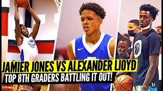 8th Graders w/ BOUNCE GO AT IT!! Jamier Jones vs Alexander Lloyd!!