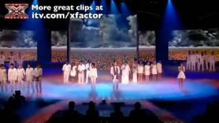 X Factor Finalists Perform Heroes  The X Factor Result Show Final 16 Sing Chairty Single Heroes