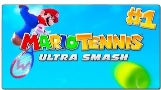 MARIO TENNIS: ULTRA SMASH | MEGAPARTIDO DE CHAMPIÑONES VS TINENQA | GAMEPLAY ESPAÑOL | WII U