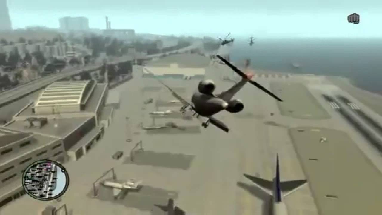 comment prendre avion gta 4