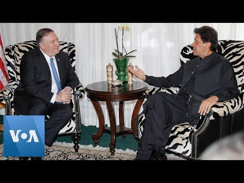 Secretary Mike Pompeo Meets with Pakistan Prime Minister Imran Khan