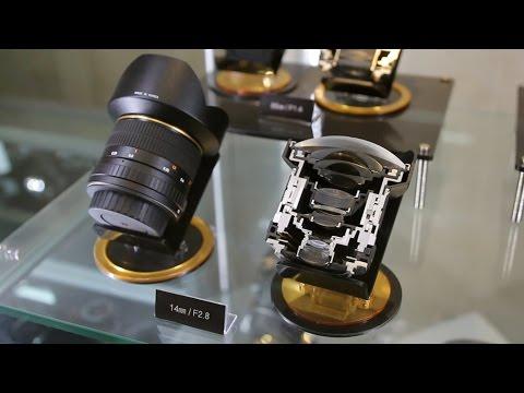 Visiting Samyang Optics' lens factory, South Korea