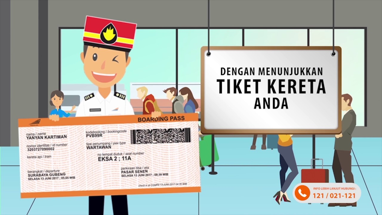 Jangan Buang Boarding Pass Tiket Kereta Api Dapat Diskon Khusus
