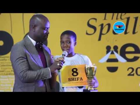 Shifa Amankwa-Gabbey wins 2018 National Spelling Bee Championship - Highlights