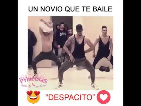 Despacito, coreografía de hombres - tini Herrera ❤