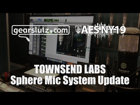 Townsend Labs Sphere Mic System Update - Gearslutz @ AES 2019