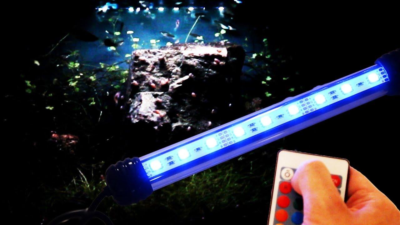 Luce Led Acquario.Luce Led Rgb Sommergibile Per Acquario Joytutus