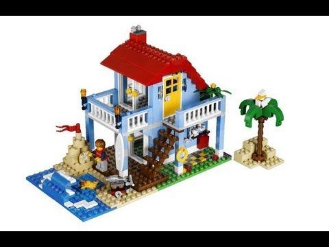 lego creator 7346 casa sulla spiaggia fun toy
