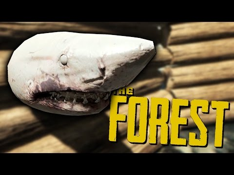 INTRODUCING TIMOTHY THE SHARK! - The Forest Hard Mode Co-Op Gameplay #3