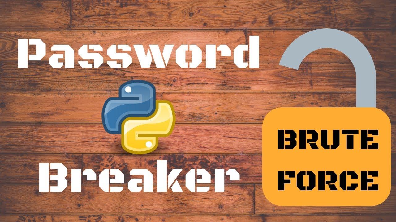 Brute Force Password Breaker for PDF | Python 3 6 | Tech