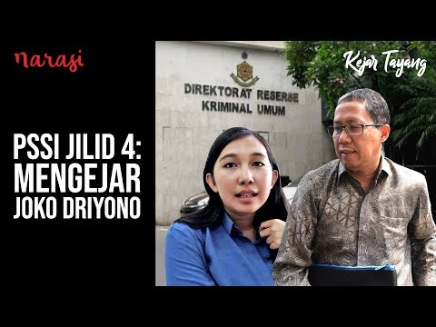 Mengejar Joko Driyono | Kejar Tayang