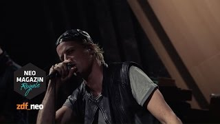 Zurück | #TheRappening Dendemann im NEO MAGAZIN ROYALE mit Jan Böhmermann - ZDFneo