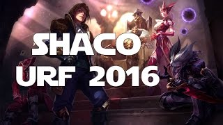 League Of Legends Ultra Rapid Fire Urf 2016 Shaco