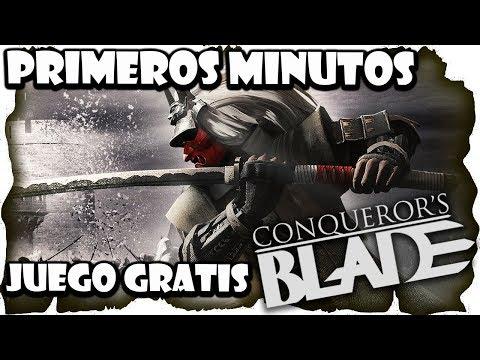 Conquerors Blade Gameplay Español | Primeros pasos | MMO Free To Play