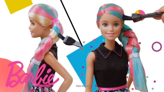 Barbie Acconciature Colorate Youtube