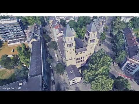 Dusseldorf, Germany Tour Google Earth HTC Vive