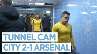 TUNNEL CAM | City 2-1 Arsenal