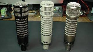 Electro Voice RE320 vs RE20 vs RE27 N/D Comparison (Versus Series)