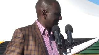 Ruto On  Alfred Keter