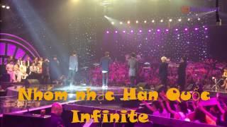 INFINITE - Phía sau một Nhóm nhạc Hàn Quốc INFINITE tại