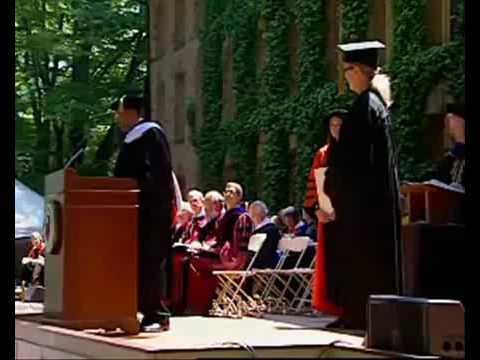 Meryl Streep receives Honorary Degree at Princeton University (June 2, 2009)