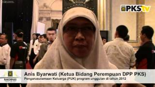RAKORNAS PKS SURABAYA - Anis Byarwati tentang Pengarusutamaan Keluarga.mpg