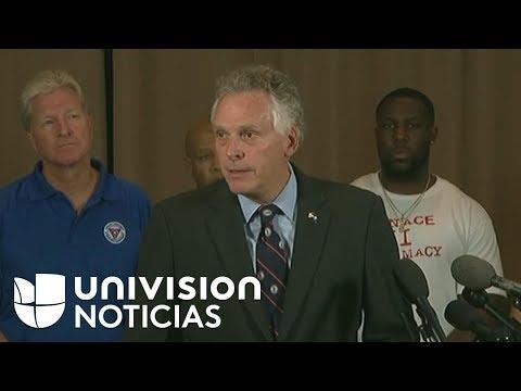 """Gobernador de Virginia a supremasistas blancos: """"No hay lugar para ustedes aquí, váyanse"""""""