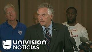Gobernador de Virginia a supremasistas blancos: