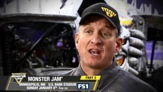 Monster Jam in Minneapolis   Freestyle Championship on FS1   Jan 8, 2017